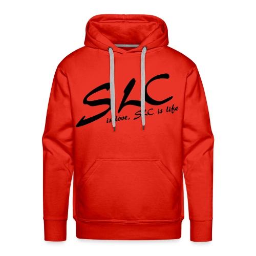SLC is Love, SLC is Life - Mannen Premium hoodie