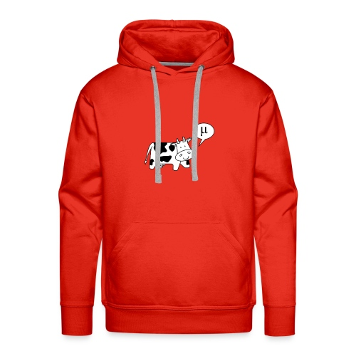 The Cow says Mu - Men's Premium Hoodie