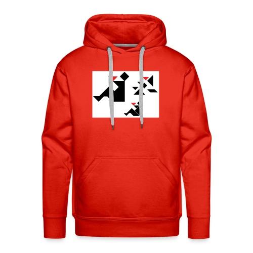 sreadshirt-catalogo-Uomo_con_coppa - Sweat-shirt à capuche Premium pour hommes