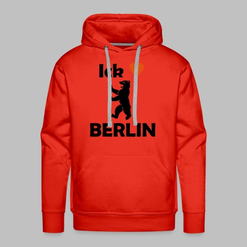 Ick liebe ❤ Berlin - Männer Premium Hoodie