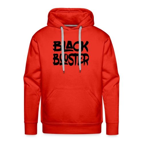 Black booster - Men's Premium Hoodie