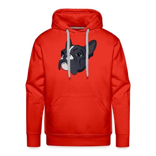 Franse bulldog - Mannen Premium hoodie