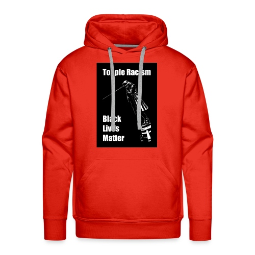 Topple Racism BLack Lives Matter T shirt - Men's Premium Hoodie