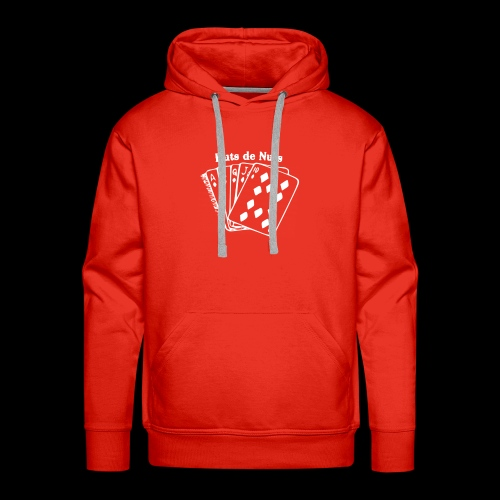 Royal Huts de Nuts white Made with PosterMyWall - Mannen Premium hoodie