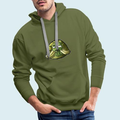 turtle - Felpa con cappuccio premium da uomo