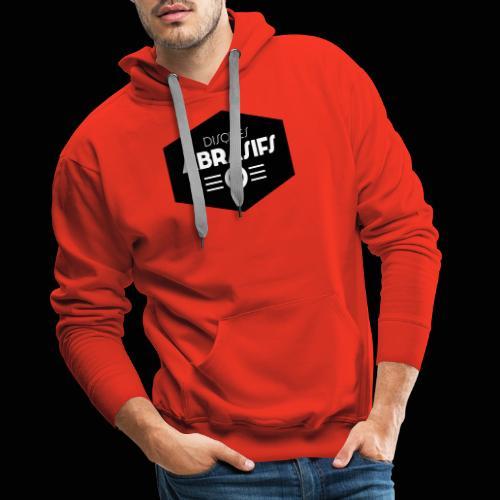 Official Disques Abrasifs Merch' - Sweat-shirt à capuche Premium pour hommes