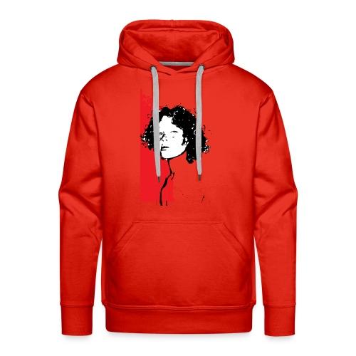L'enfant rouge représente la terre rouge d'Afrique - Sweat-shirt à capuche Premium pour hommes
