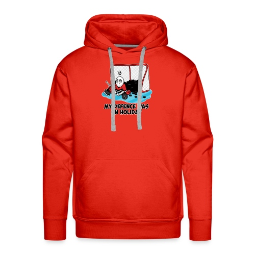My Defence Was On Holiday - Men's Premium Hoodie