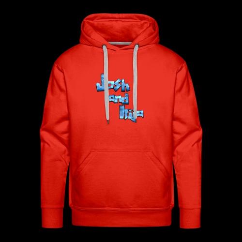 Josh and Ilija - Men's Premium Hoodie