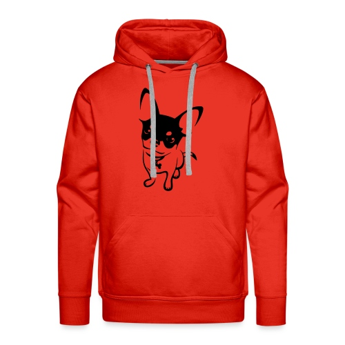 Chihuahua Mok - Mannen Premium hoodie