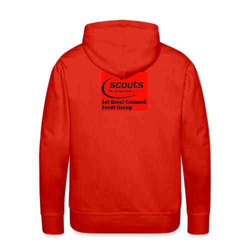 1st Great Cornard Scout Group - Men's Premium Hoodie