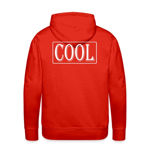 COOL - Sudadera con capucha premium para hombre