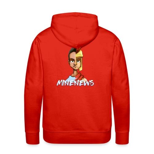 Mino Back - Sweat-shirt à capuche Premium pour hommes