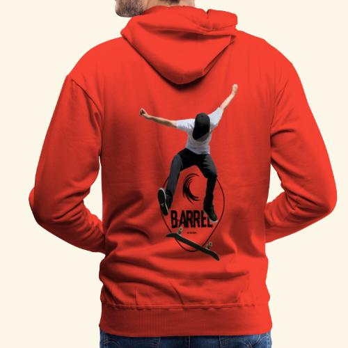 Barrel_skate - Sudadera con capucha premium para hombre