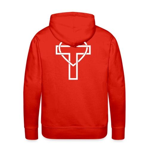 Croix Glorieuse d'Amour - Jésus - Sweat-shirt à capuche Premium pour hommes
