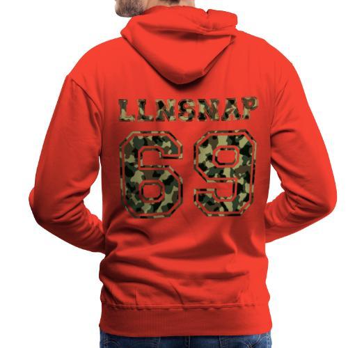 LLNsnap 69 (camo) - Sweat-shirt à capuche Premium pour hommes