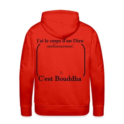Corps de Bouddha - Sweat-shirt à capuche Premium pour hommes