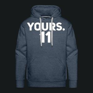 HOODY YOURS 11 - Mannen Premium hoodie