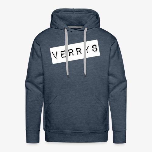 Verrys - Sudadera con capucha premium para hombre