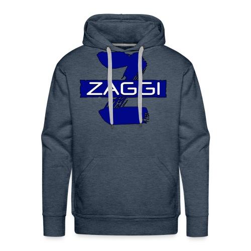 The Blue Z - Herre Premium hættetrøje