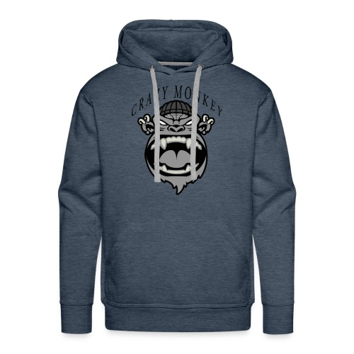 CRAZY MONKEY collection - Sweat-shirt à capuche Premium pour hommes