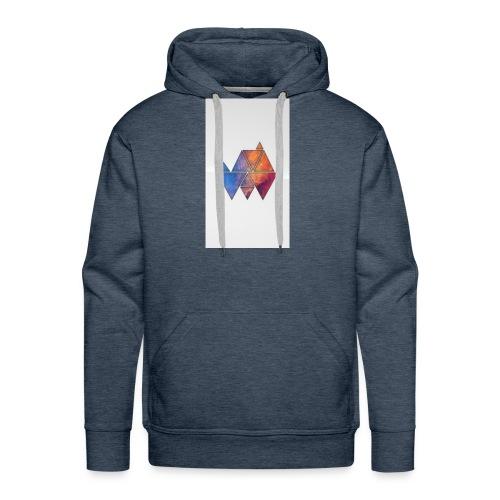 Colourful_Triangles - Männer Premium Hoodie
