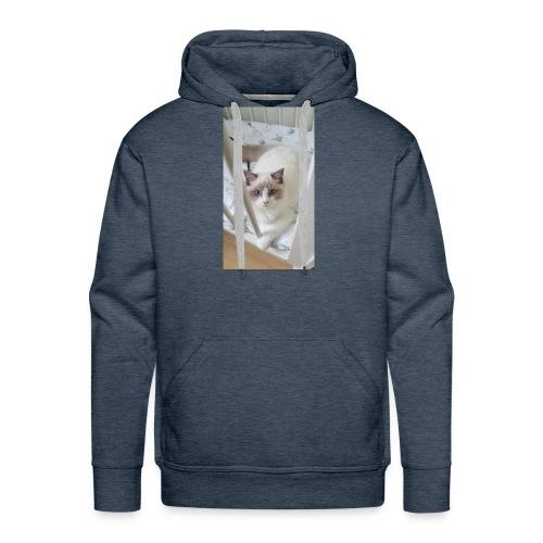 bibi in bed - Mannen Premium hoodie