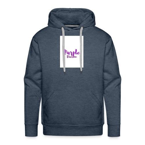 Purple Nation - Premium hettegenser for menn