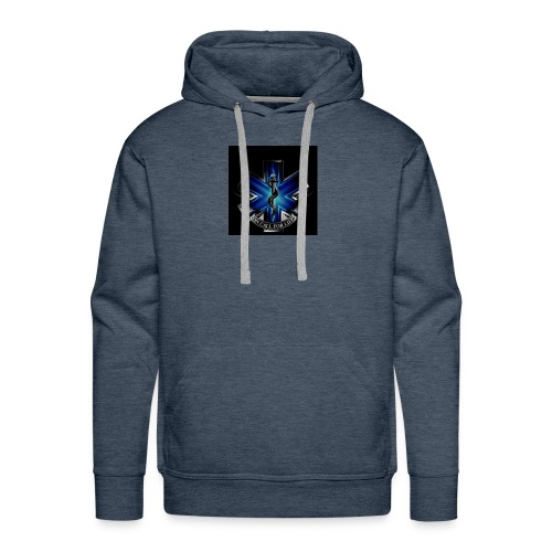 EMS on call for life phone case - Men's Premium Hoodie