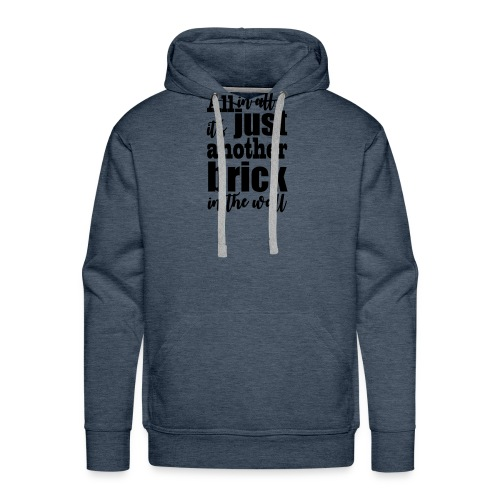 another brick vect - Sweat-shirt à capuche Premium pour hommes