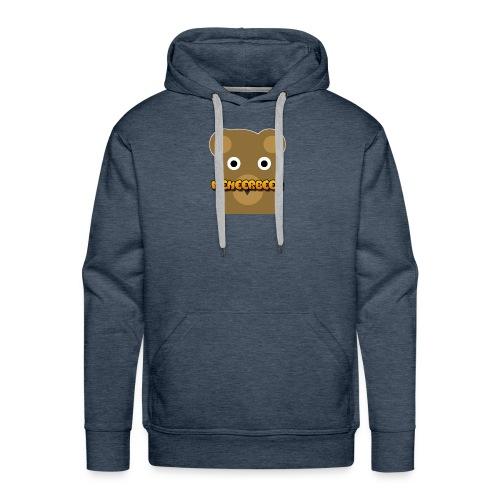 Tekst + logo kleding - Mannen Premium hoodie
