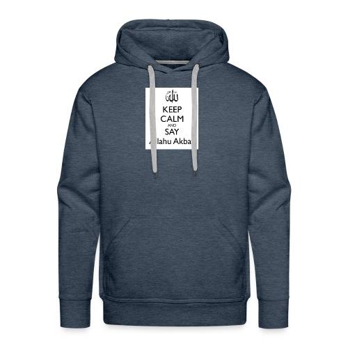 keep-calm-and-say-allahu-akbar - Männer Premium Hoodie