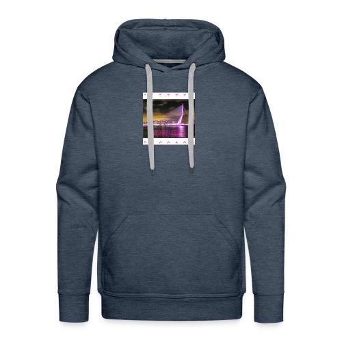 100 sweater wit - Mannen Premium hoodie