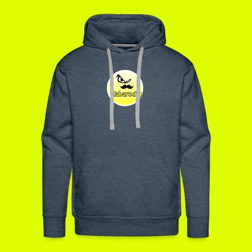 Shirt with nice logo with text - Men's Premium Hoodie