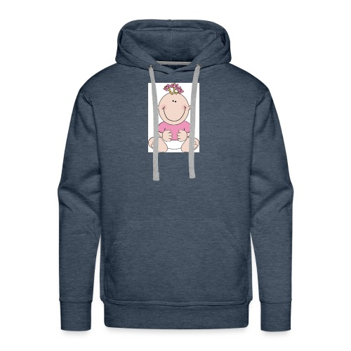 rompertje meisje - Mannen Premium hoodie