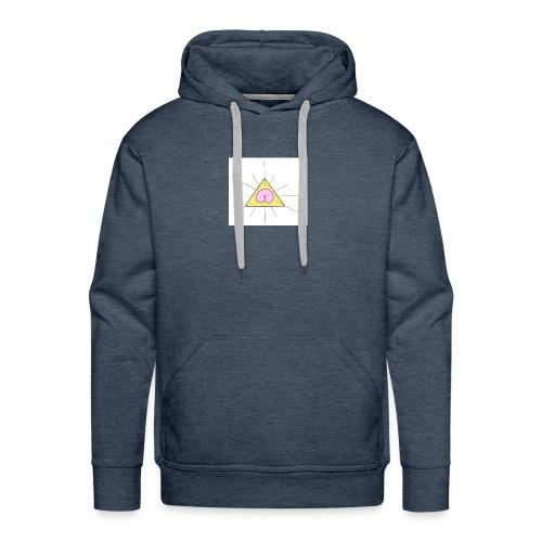 sainte_fesse - Sweat-shirt à capuche Premium pour hommes
