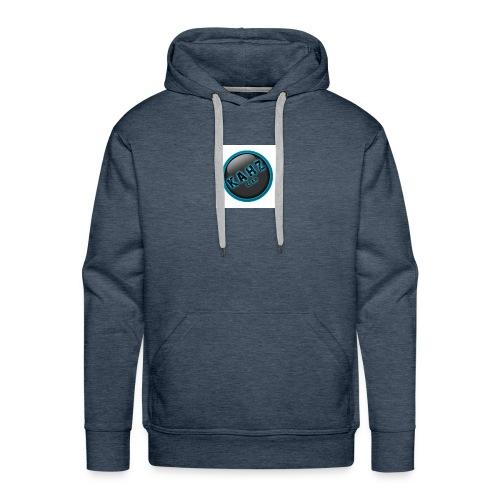 kahz clan logo wit - Mannen Premium hoodie
