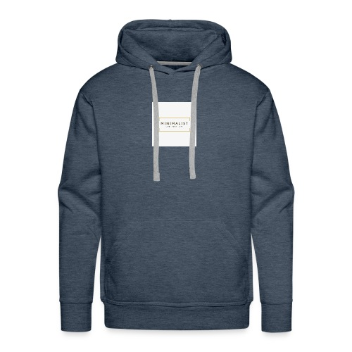 Minimalist - Sweat-shirt à capuche Premium pour hommes