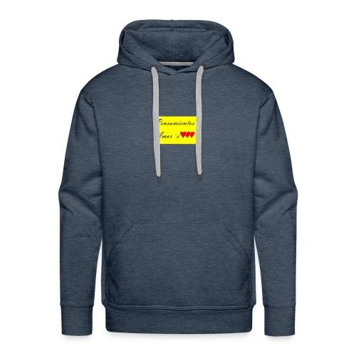 Pensamientos-png - Sudadera con capucha premium para hombre