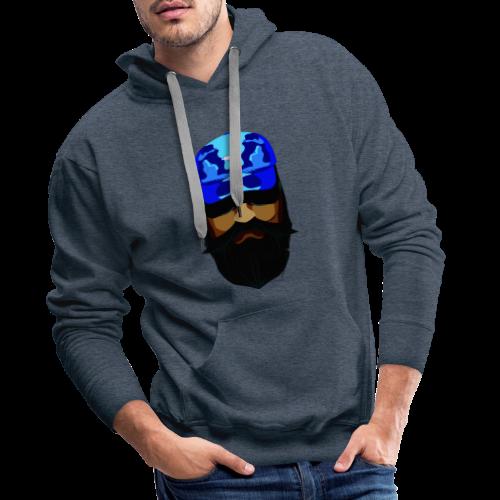 T-shirt gorra dadhat y boso estilo fresco - Sudadera con capucha premium para hombre