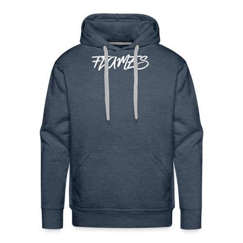 Swag Flames Logo - Men's Premium Hoodie