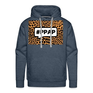 Pineapple Pen Song Leopard - Mannen Premium hoodie