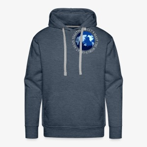 Let s Make The World Great Again Together - Sweat-shirt à capuche Premium pour hommes