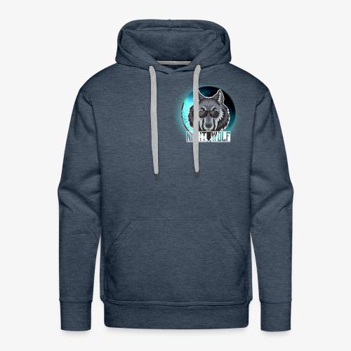 Wolf - Sudadera con capucha premium para hombre