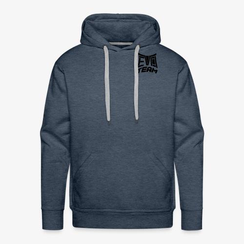 EvoTeam Petit Noir - Sweat-shirt à capuche Premium pour hommes