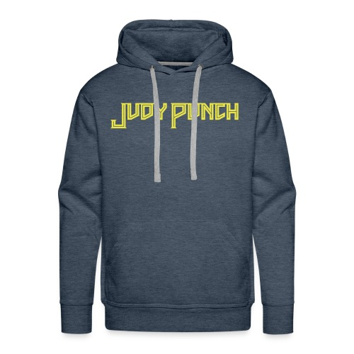 Judy Punch text - Men's Premium Hoodie