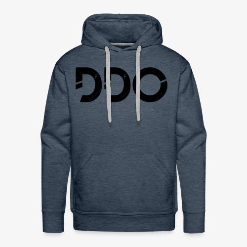 DDO in het zwart. - Mannen Premium hoodie