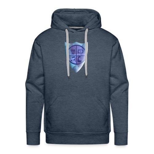 Emblem of the knight - Men's Premium Hoodie