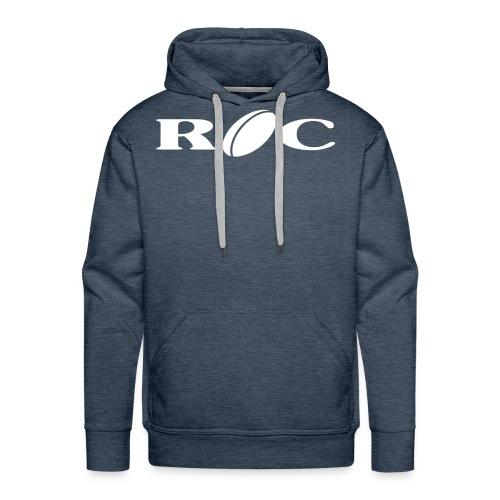 ROC-blanc - Sweat-shirt à capuche Premium pour hommes