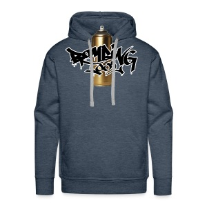 Golden Spray Can Bombing Tool - Männer Premium Hoodie